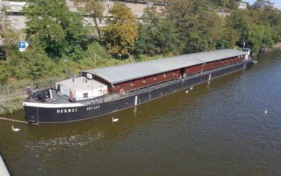 Centrum sociálních služeb Praha – klimatizace lodi Hermes