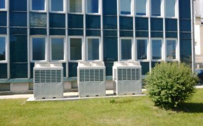 ZZN Polabí Kolín (člen skupiny AGROFERT)-Klimatizace provozní kancelářské budovy