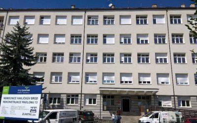 Nemocnice Havlíčkův Brod-klimatizace ordinací a odborných pracovišť VRV systém klimatizace HAIER